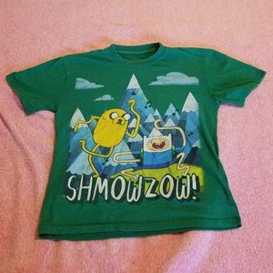 Adventure Time SHMOWZOW! T-shirt Size M